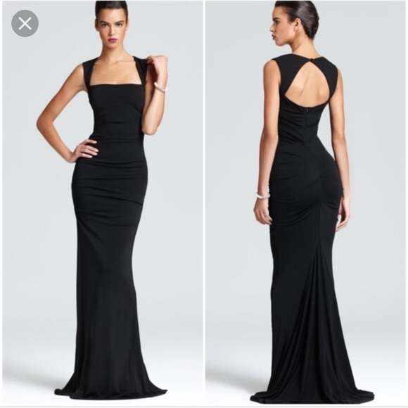 Nicole Miller Dresses | Black Felicity Gown New With Tags | Poshmark